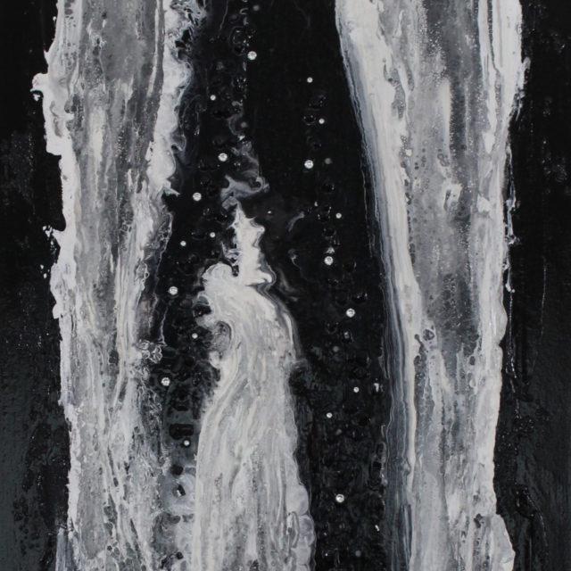 BLACK WATER | 36x18